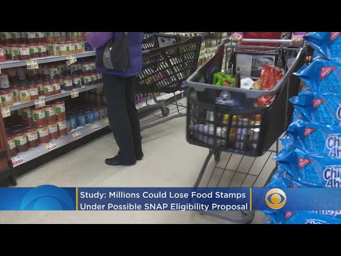 Study: Millions Could Lose Food Stamps Under New SNAP Eligibility Proposal