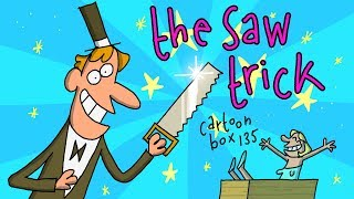 The Saw Trick | Cartoon Box 136 | by FRAME ORDER | Funny animated cartoons