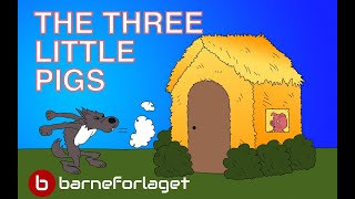 THE THREE LITTLE PIGS | Fairy Tale | Bedtime story with colorful pictures | famoustales.com