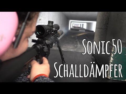 Sonic 50 - Multi-Kaliber Schalldämpfer von .17 HMR bis .375 H&H Magnum - Let's Shoot #134