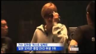 Japan Oricon DVD singers Kim Hyun Joong of '1 'crowned
