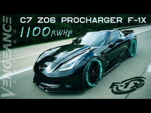 EVILDNA - C7 Z06 Procharger F-1X Conversion - Vengeance Racing