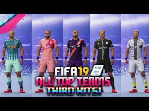 great prices coupon codes online here FIFA 19 All Top Teams Third Kits FT PSG x Jordan Kit