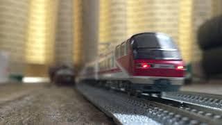 鉄道模型 GM 名鉄1801F+1116F/1131F すれ違い