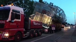 Schwertransport Winkels 23.06.17 in Kleve von Wagenborg