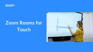 Zoom Rooms for Touch