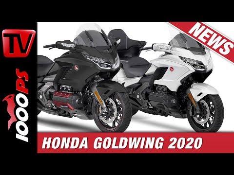 Honda Goldwing 2020 - die verfeinerte Touring-Ikone!