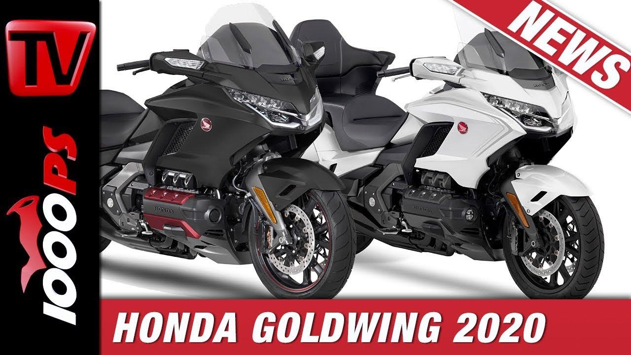 2020 Goldwing Review.Honda Goldwing 2020 Die Verfeinerte Touring Ikone