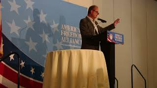 Speech at American Freedom Alliance 5-20-18