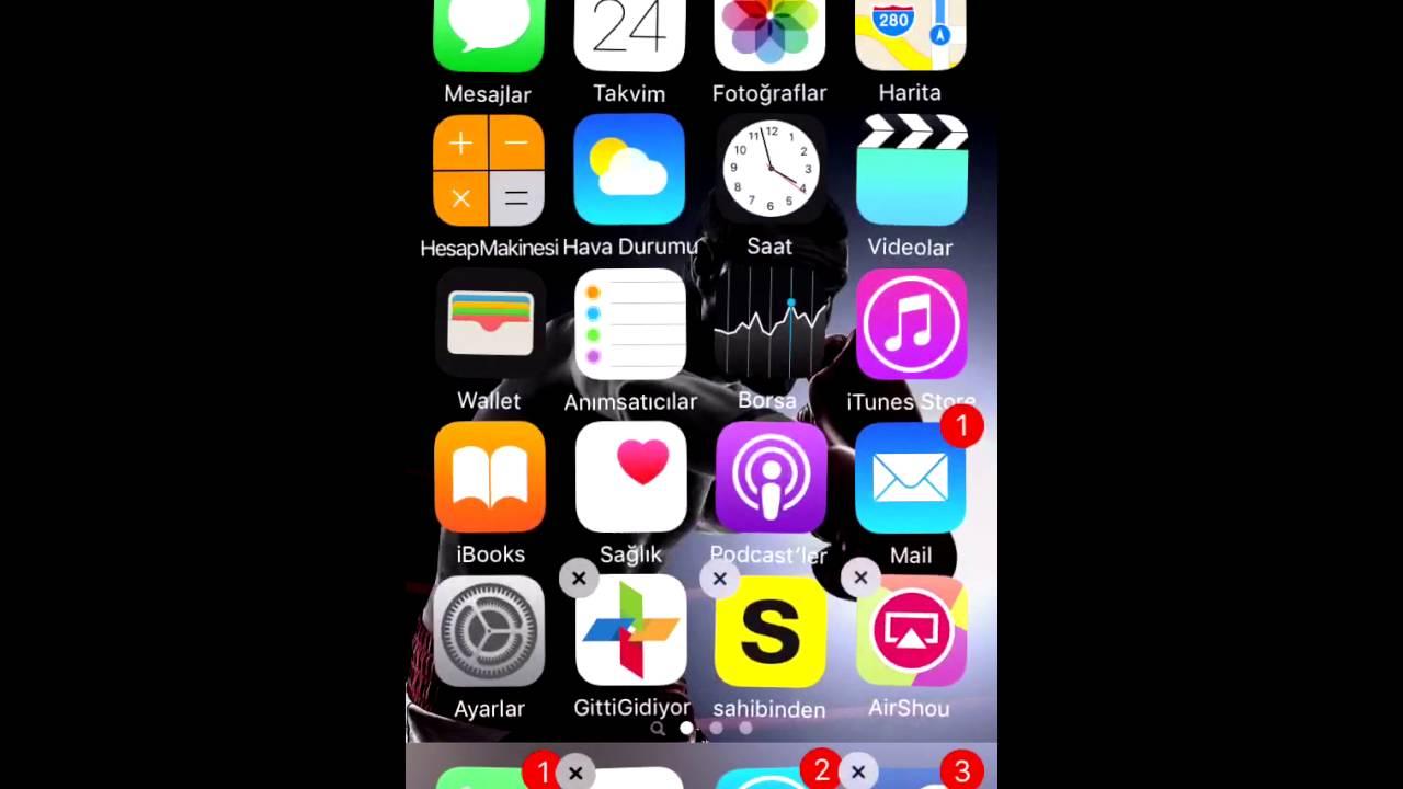 iphone jailbreaksiz uygulama gizleme