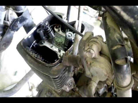 White smoke from engine solution (CBz xtreme) bike part 1