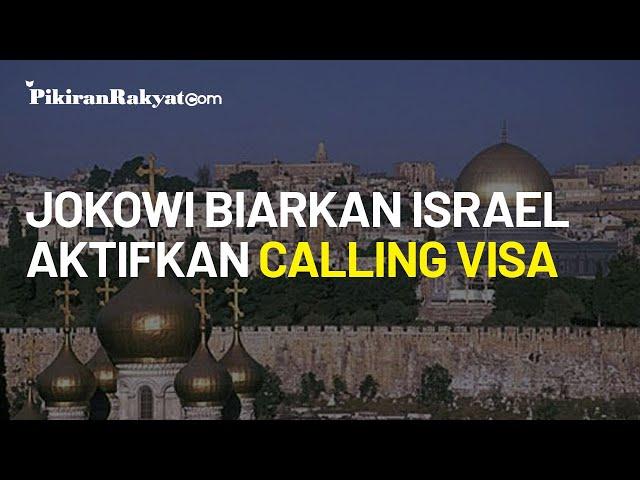 Hidayat Nur Wahid Sayangkan Sikap Jokowi yang Biarkan Pengaktifan Calling Visa untuk Israel