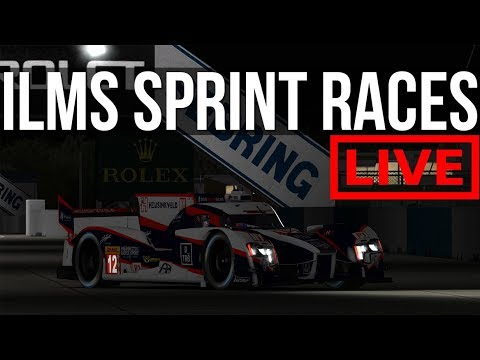 iRacing - iLMS Sebring Sprint Races | I'M BACK BABY