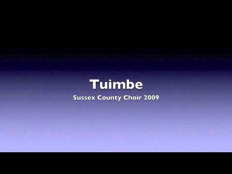 Tuimbe- Sussex County Choir 2009
