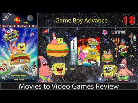 Movies to Video Games Review -- The Spongebob Squarepants Movie (GBA)