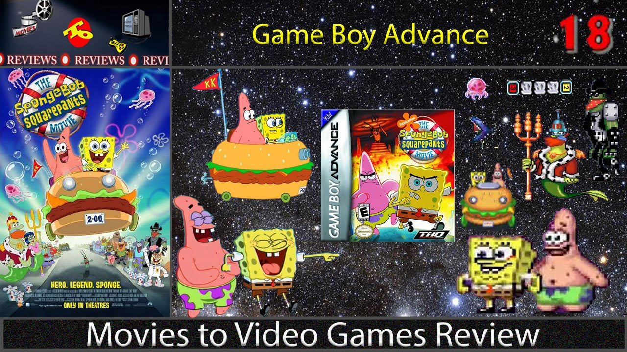 movies to video games review the spongebob squarepants
