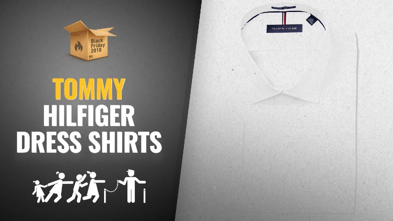 29c536a5 Save Big On Tommy Hilfiger Men Dress Shirts Black Friday / Cyber ...