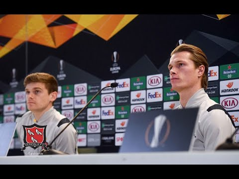 Dundalk FC v Rapid Wien | MD-1 Press Conference | November 25th 2020