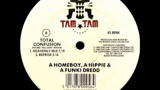 A Homeboy,A Hippie & A Funki Dredd  ‎- Total Confusion ( Heavenly Mix)