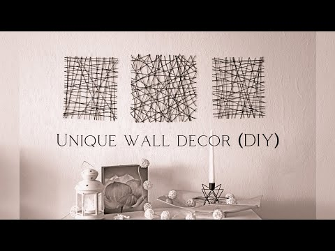 🦋 Unique wall decor (DIY) 🦋