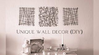 🦋 Unique Wall Decor  Diy  🦋