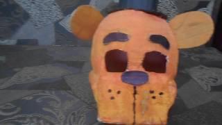 Обзор на маску Фредди и Бонни из FNaF