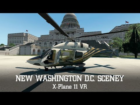 Repeat Helicopter Tour in Washington D C  Scenery Update – X