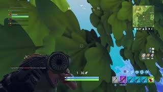 With remote-controlled rocket launcher 2 people taken out of the range [fortnite battle royale]