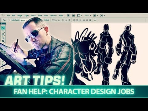 Art Tips: Fan Help - Character Design Jobs