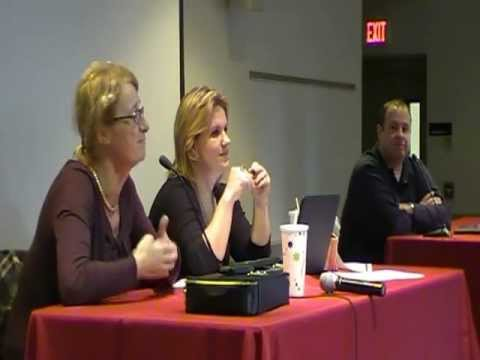 Ann McElhinney Energetically Drills Radical Socialist Feminist at Temple University 11.07.11