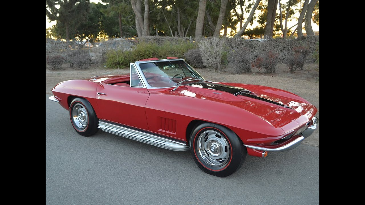 sold 1967 chevrolet corvette l71 427 435hp convertible for sale by corvette mike youtube. Black Bedroom Furniture Sets. Home Design Ideas