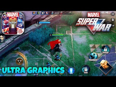 MARVEL SUPER WAR - ULTRA GRAPHICS GAMEPLAY (ANDROID/iOS)