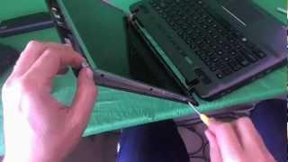 Toshiba Satellite P745 Laptop Screen Replacement Procedure