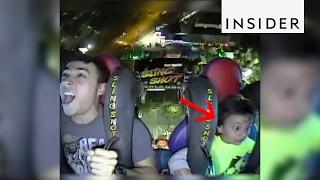 A roller coaster flings you like a slingshot