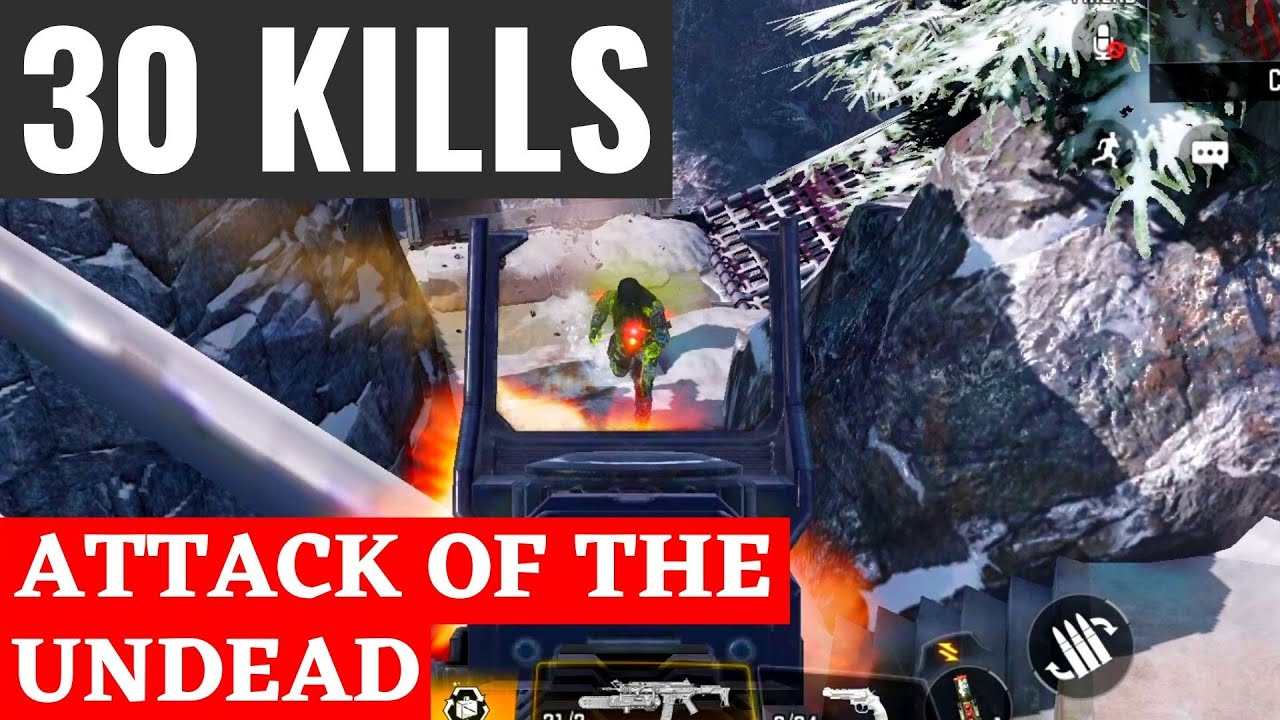 ATTACK OF THE UNDEAD | Multiplayer Mode Gameplay | Gameloop COD Mobile Emulator