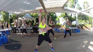 Zumba® with Kathleen ▸ The Calabria - Enur Punto Rojo ft Natasja