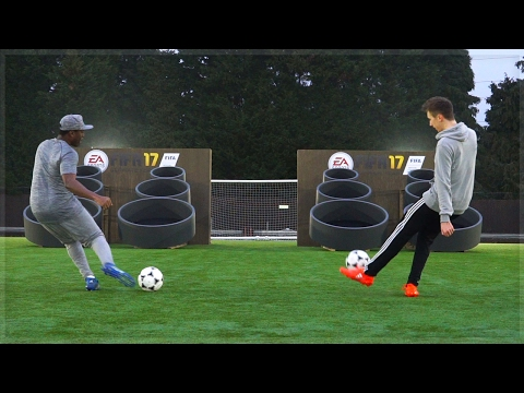 FIFA 17 SKILL GAMES IN REAL LIFE!!