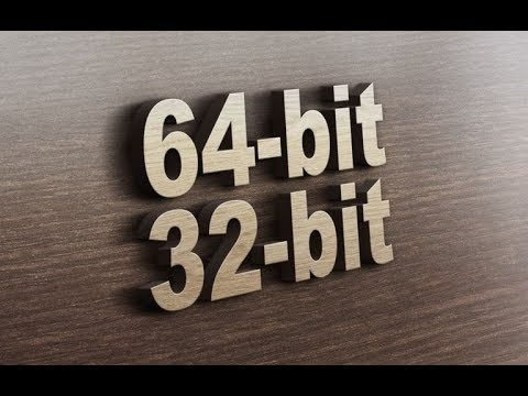 How To Run 64Bit (games/programes) On 32Bit Or The Opposite