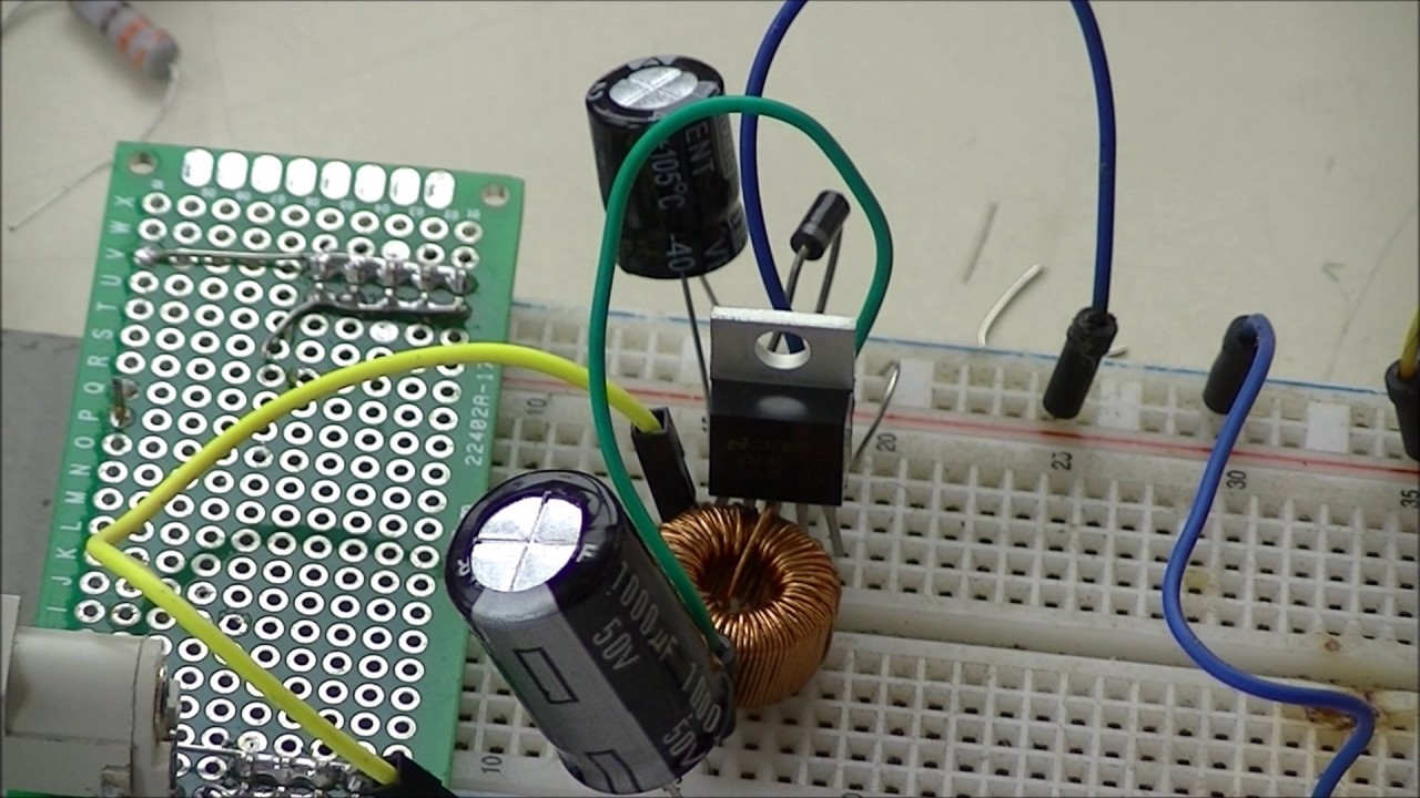Controlled Transistor Series Regulator Review Types Of Switching Voltage Regulators Youtube