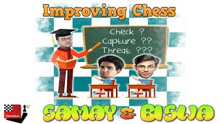 Improving Chess episode 7 | ft. Samay, Biswa & Tanmay
