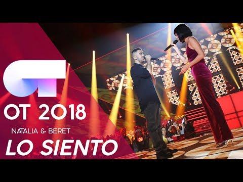 """LO SIENTO"" - NATALIA & BERET | GALA NAVIDAD | OT 2018"