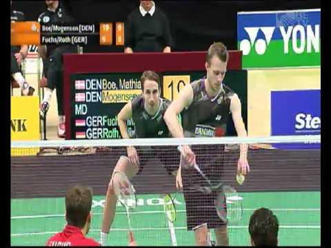 Boe/Mogensen - Fuchs/Roth (European Championships men's doubles finals)