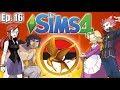 Elite Four HUNGER GAMES Challenge (Part 1) - The Sims 4: Pokemon Theme - Ep. 16
