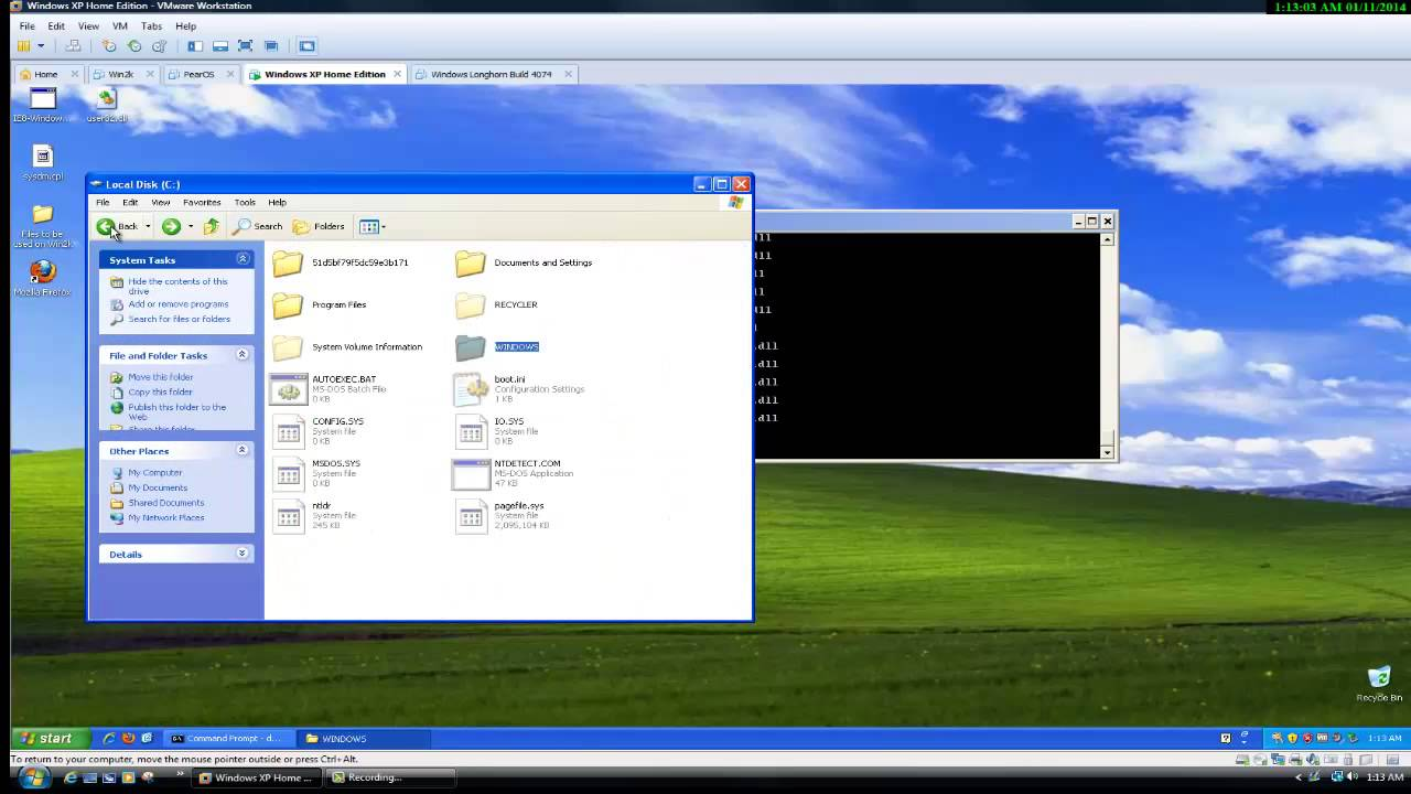 What happens when you deleсстановление файлов Windows XPte System32 on Windows XP?