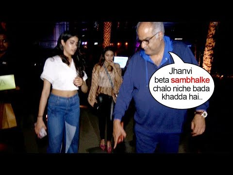 Boney Kapoor Shows So Much LOVE & CARE For Jhanvi Just Like Mother Sridevi Did Mp3