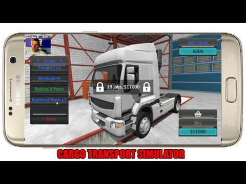 ANDROID JÁTÉKOK ( Te küldöd én kipróbálom ) #2 Cargo Transport Simulator