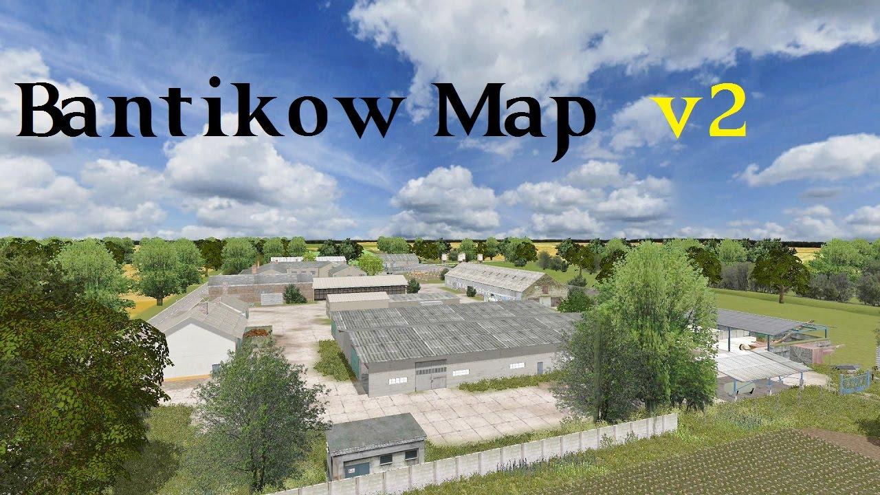 Farming Simulator 2013 Presentazione Bantikow Map V2