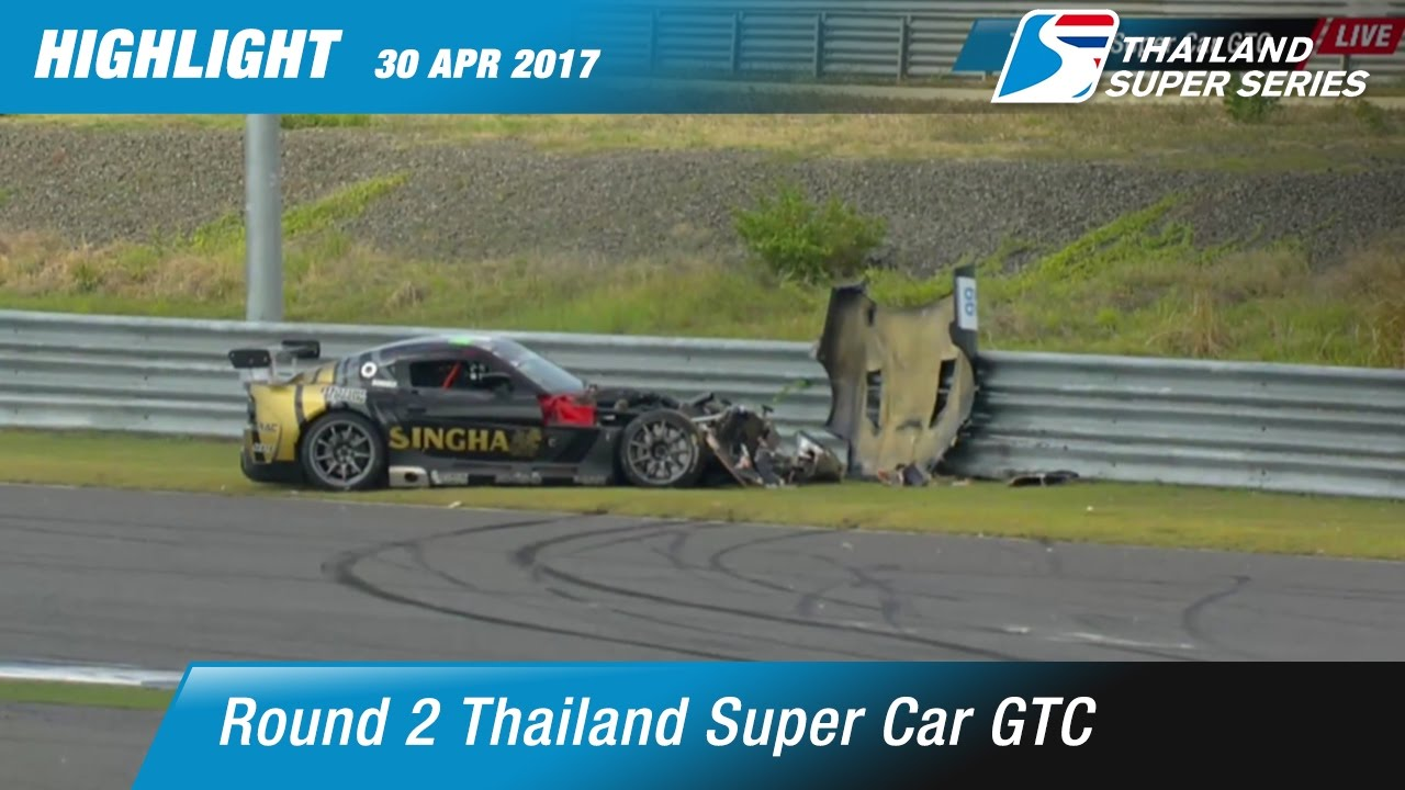 Highlight TH Super Car GTC Rd.2 | Chang International Circuit , Buriram