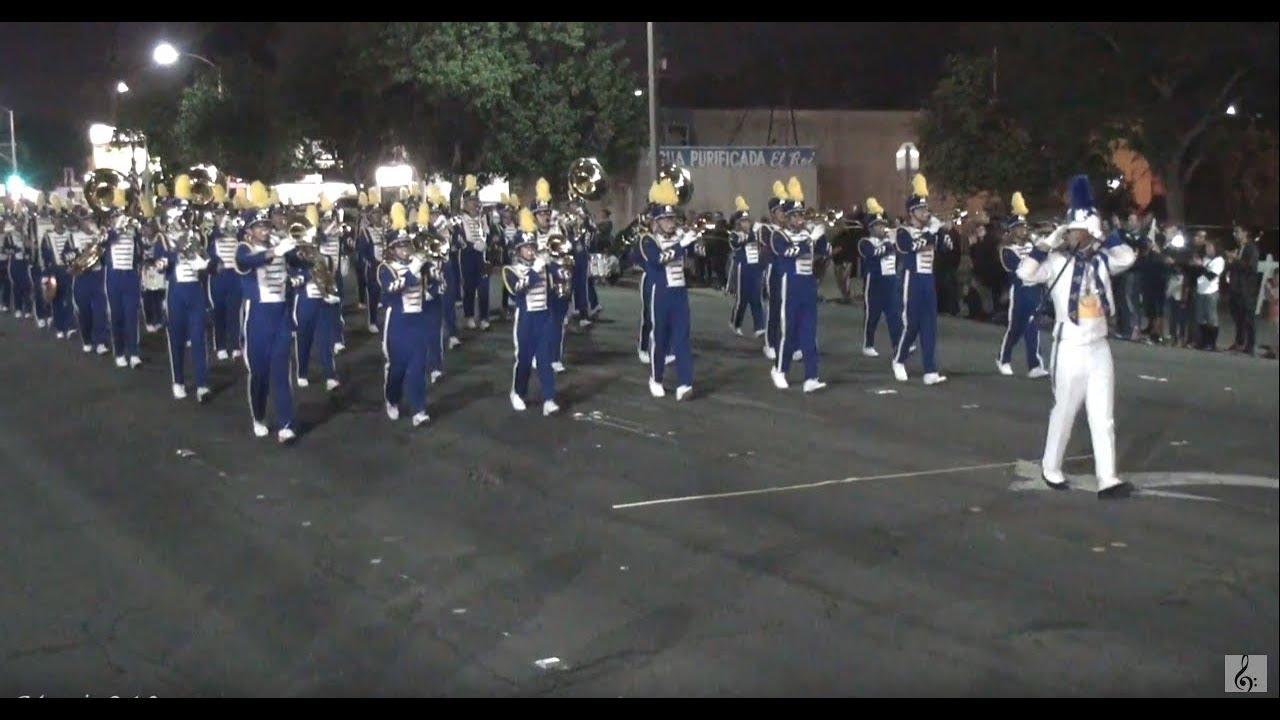 Pomona Christmas Parade 2019 Garey HS   Semper Fidelis   2017 Pomona Christmas Parade   YouTube