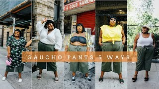 PLUS SIZE OUTFIT IDEAS | MAXIMIZE YOUR WARDROBE AND REWEAR CLOTHES